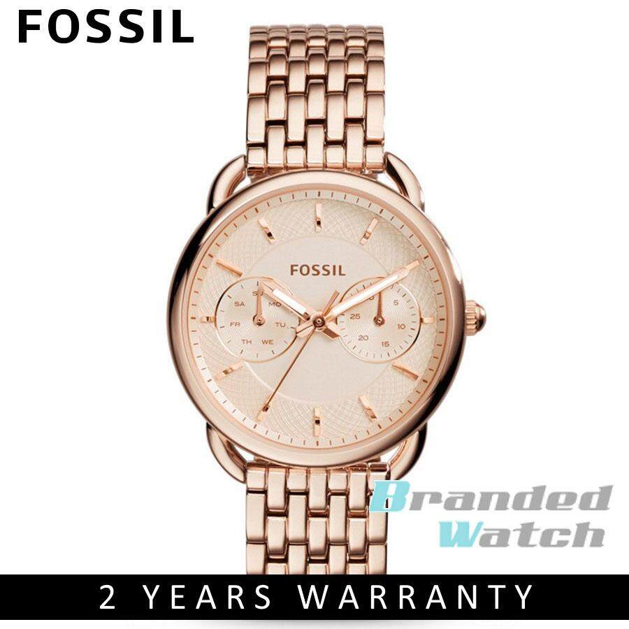 Sell Fossil Tailor Multifunction Cheapest Best Quality My Store Es3954 Light Brown Leather Watch Blue Stainless Steel Es4259myr499 Myr 515