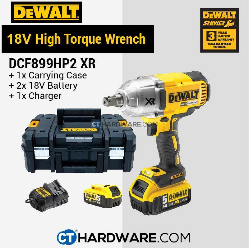 DEWALT DCF899HP2 CORDLESS BRUSHLESS IMPACT WRENCH 20V