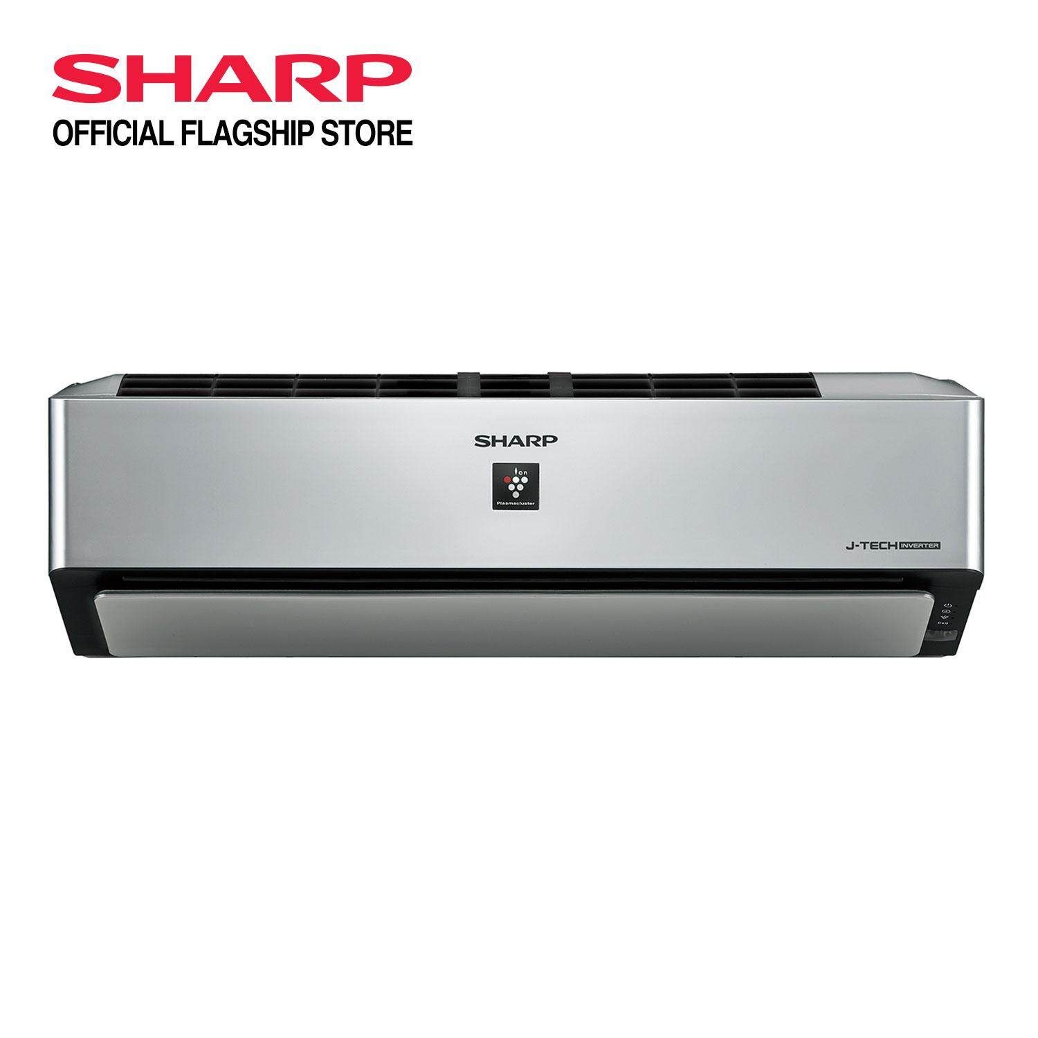 SHARP Air-Cond AHXP10VXD 1.0HP AIoT Air-Cond Plasmacluster Ion (PCI) (Comes with free gift)