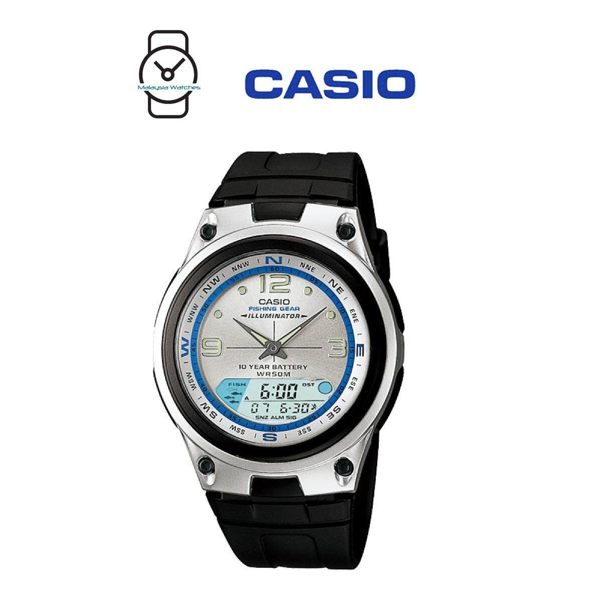 Casio Men Sports Watches Price In Malaysia Best Aeq 200w 9a Aw 82 7avdf Illumination Fishing Gear 10 Years Battery Black Silver Resin