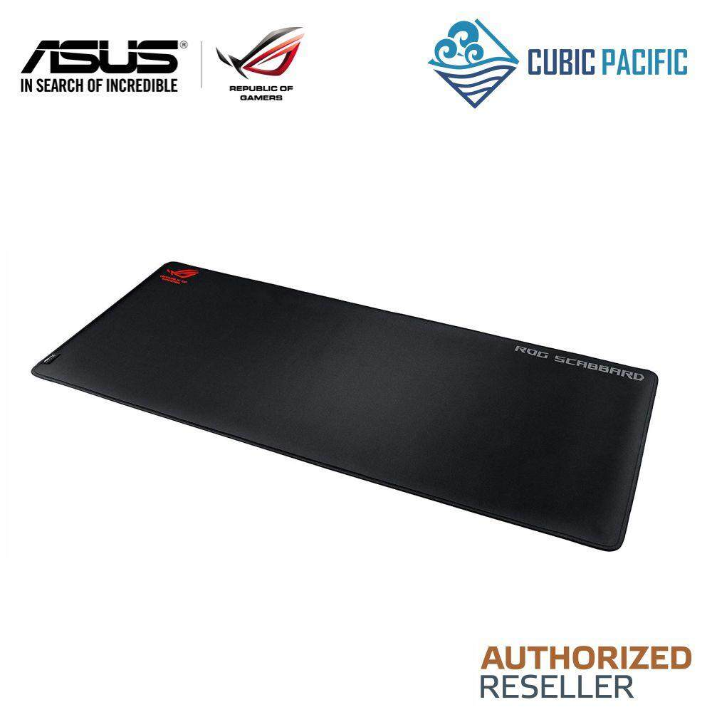 "ASUS ROG Scabbard Extra-Large Anti-fray Slip-free Spill-resistant Gaming Mouse Pad (35.4"" x 15.7"") Malaysia"