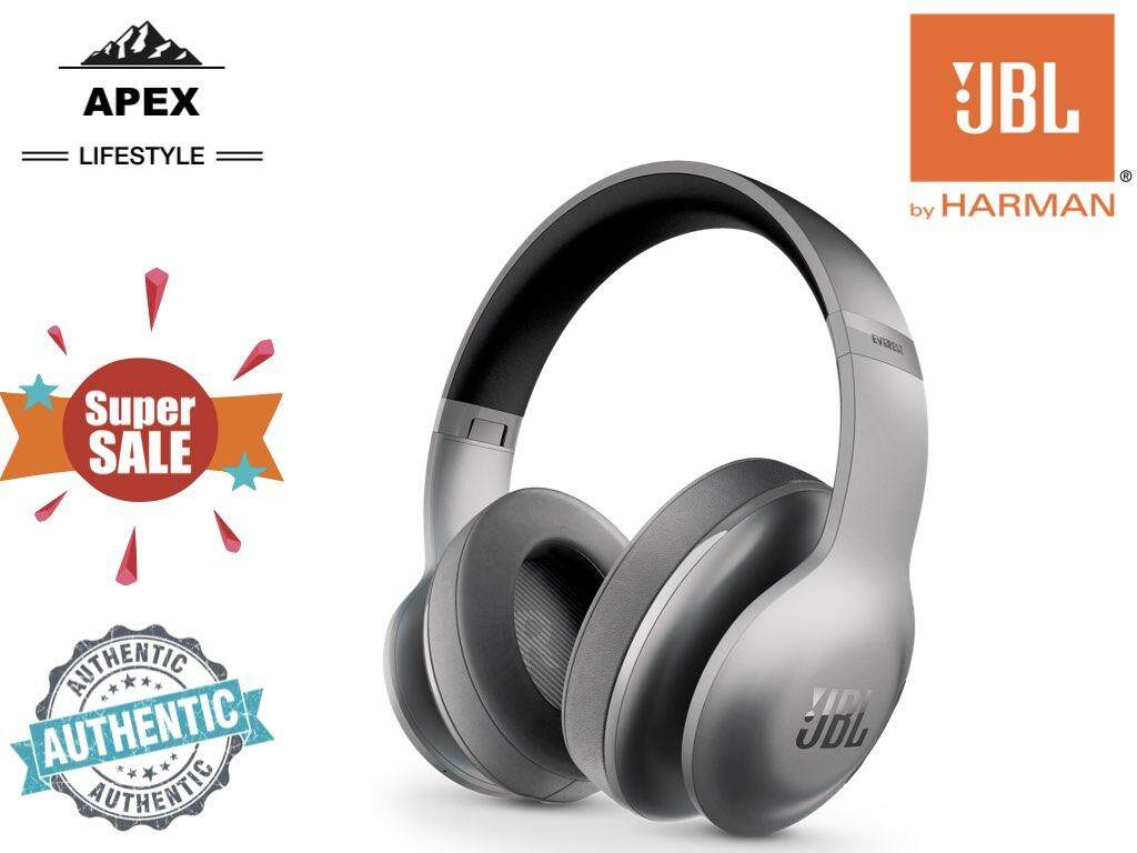 Jbl Over The Ear Headphones Malaysia Headset Wireless Stereo S990 New Design Everest 700 Around Grey