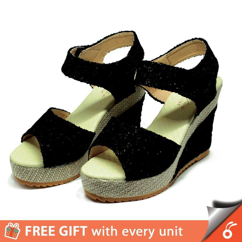 [70-A1] 1024 Taccy Women High Heels Shoes Wedges Sandal By Formikoonline.