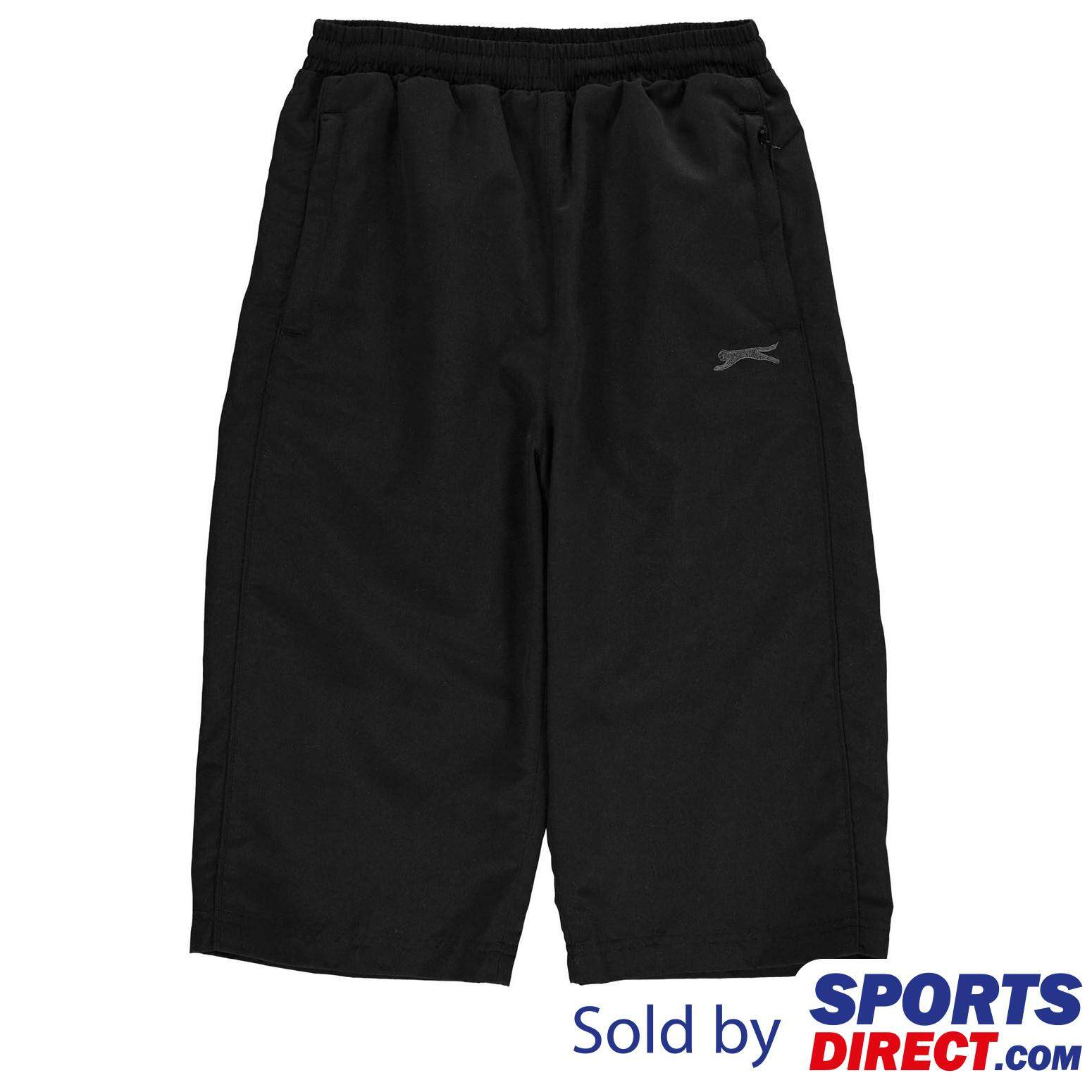 Slazenger Kids Boys Three Quarter Track Pants (black) By Sports Direct Mst Sdn Bhd.