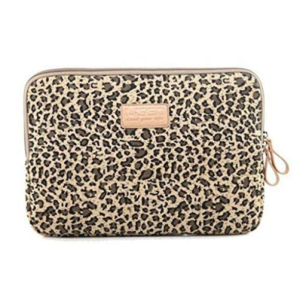 Best Christmas Gift Zonman Bohemian Style Canvas Fabric Laptop Notebook Computer MacBook MacBook Pro MacBook Air Sleeve Case Bag Cover Macbook Sleeve Briefcase Carry Case(Brown Leopard) Malaysia