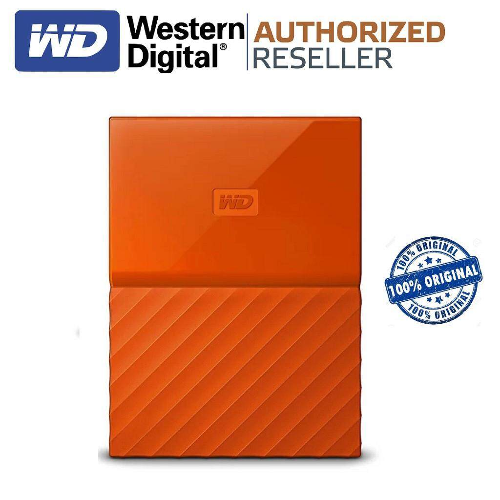 Wd My Passport New Design 1tb25inchusb30 Orange Free Pouch Pen Design1tb 25inch Usb30 Ori External Hard Drives Disk With Best Price In Malaysia Source Harga