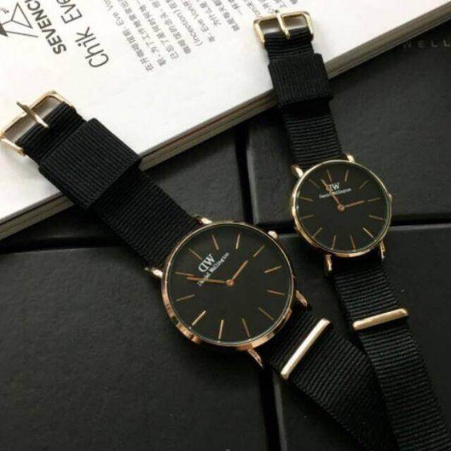 [YEAR END SALE] TRENDY COUPLE FASHION WATCH CORNWALL ROSE GOLD BLACK CLASSIC WATCH Malaysia