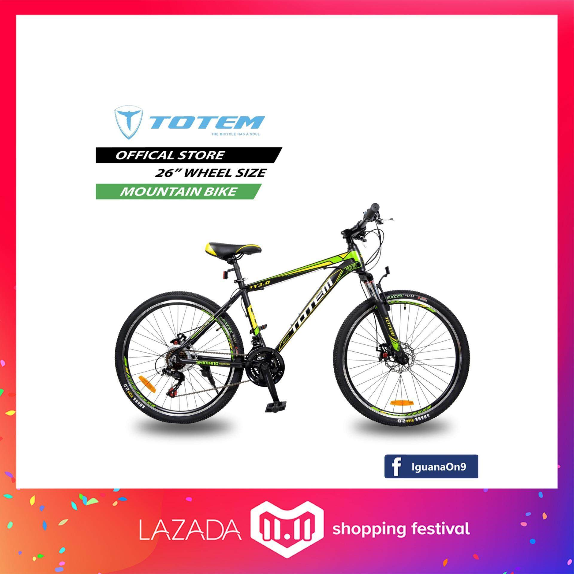 Mountain Bikes For The Best Price At Lazada Malaysia Frame Mosso 669 Xc Pro Totem 26 Ty30 Bike Black Green With Shimano Equipped
