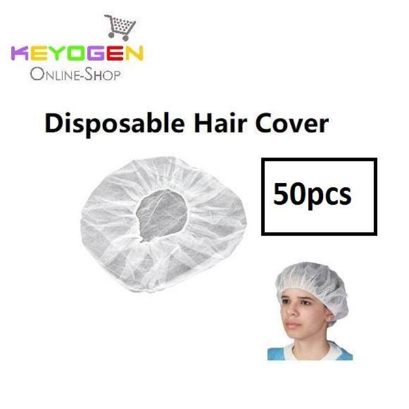 50pcs Keyogen disposable hair cover net cap