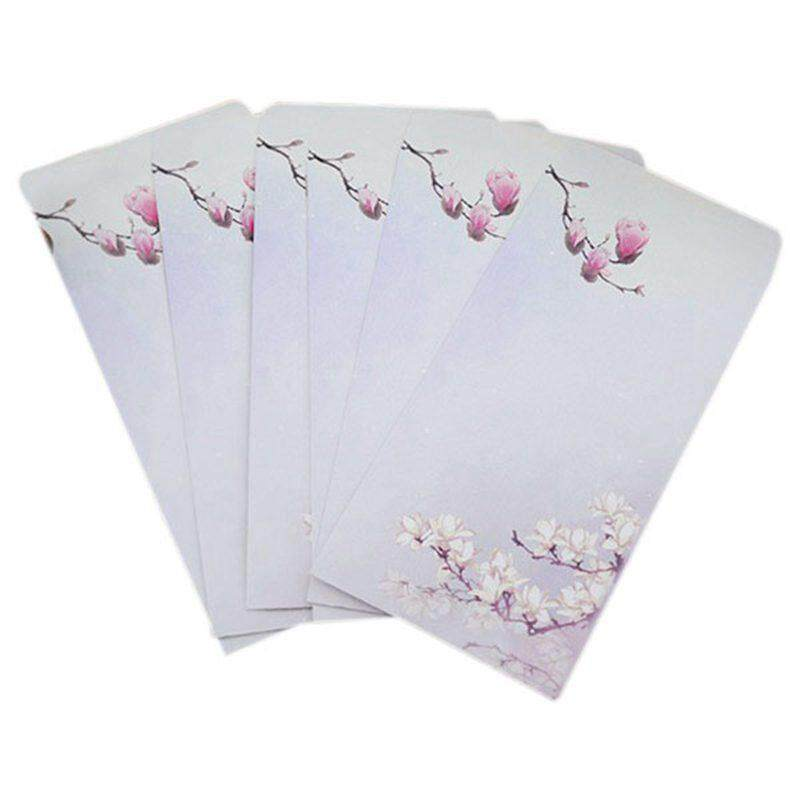10 Pieces / Party Vintage Chinese Style Vintage Craft Paper Envelope 272 Magnolia By Fastour.