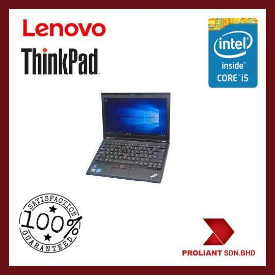 LENOVO THINKPAD X230 CORE I5 - 1 YEAR WARRANTY [GRADE A REFURBISHED] Malaysia