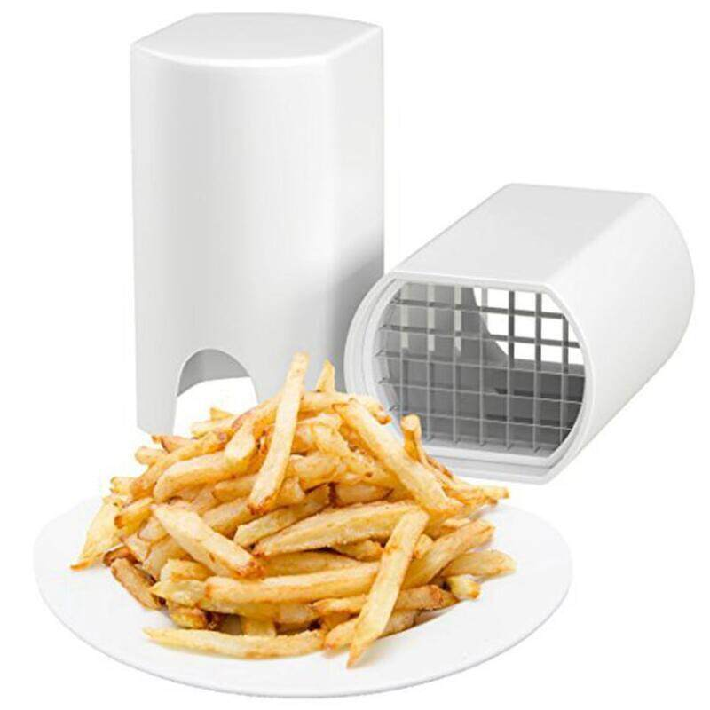 Perfect Fries One Step Natural French Fry Cutter Vegetable Fruit Durable Potato By Gadgetkecik.