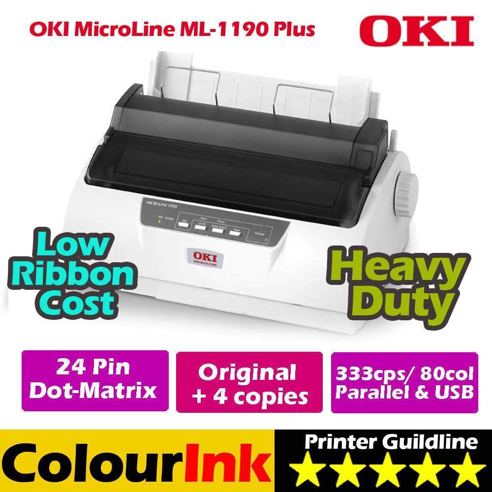 Dot Matrix Printers For The Best Price In Malaysia Printer Epson Lq310 Oki Microline Ml1190 Plus Print Up 4 Ply