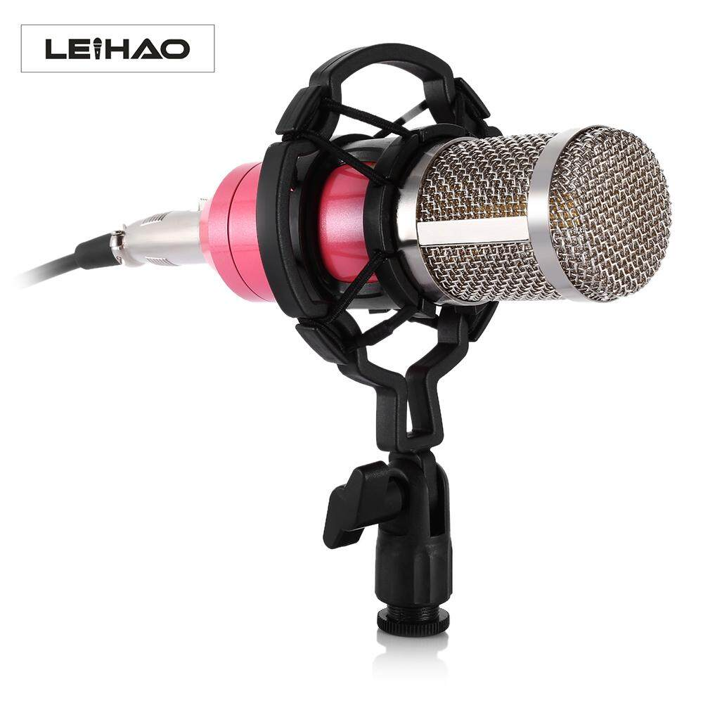 Live Sound Stage Microphones Buy Gaming Studio Condenser Recording Microphone Bm700 Mic For Pc Laptop Komputer High Quality Anti Noise Vibration Professional Leihao