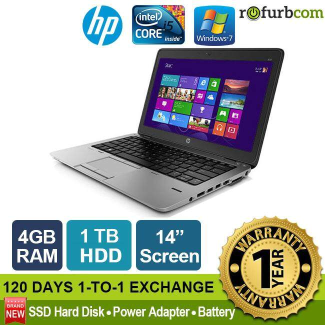 HP ELITEBOOK 840 G1 / INTEL CORE I5 4th Gen - ULTRABOOK (1TB HDD) Malaysia