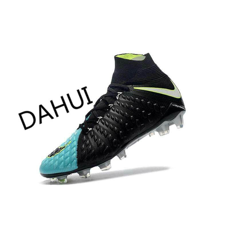 High Ankle Football Boots Hypervenom Flare Football Shoes Adulto Men s  Soccer Shoes Original Futebol Training Sneakers bc3572897