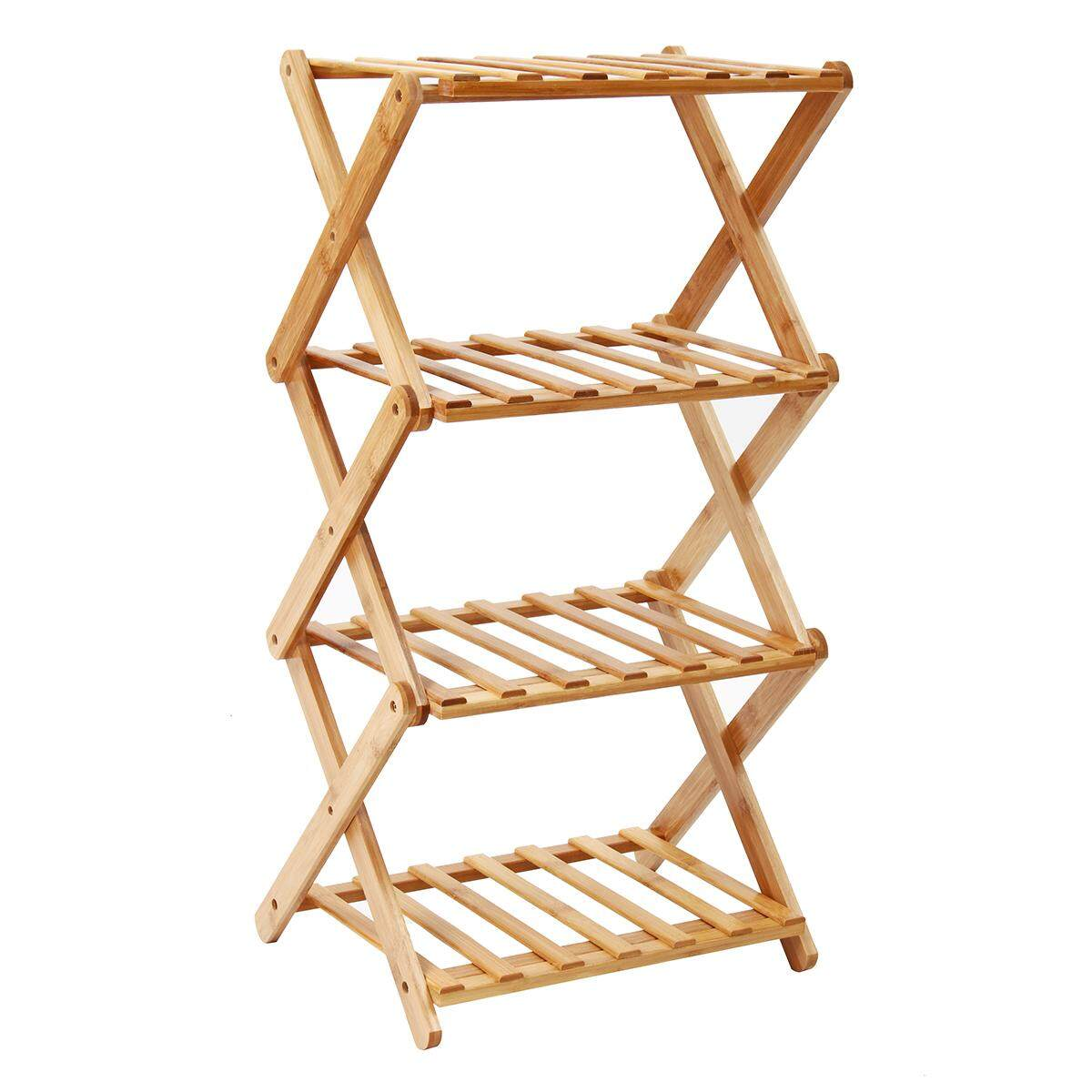 Flower Pot Plant Stand 4 Tier Flower Planter Rack Shelf Shelves Organizer Garden4 Tiers By Audew.