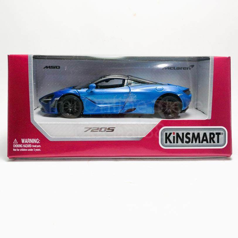 Kinsmart 1:36 Die-Cast McLaren MSO 720S Car Green Model with Box Collection