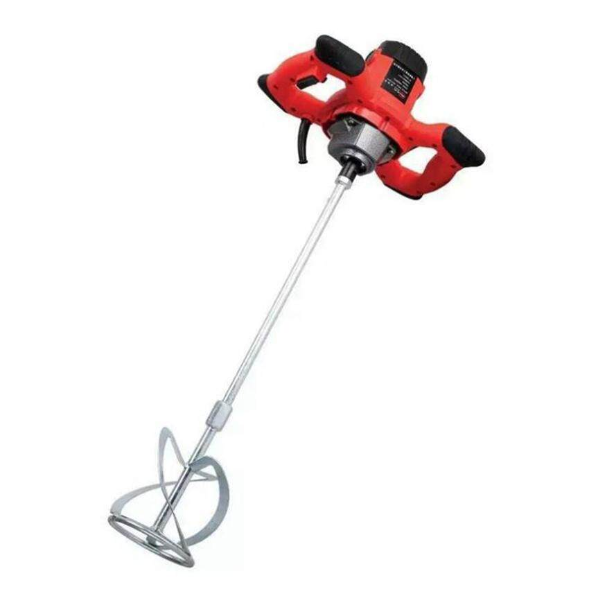 Hand Held Electric Cement Mixer 1500w speed regulating for Concretes Grouts, concrete, Paint Mixing Machine DIY