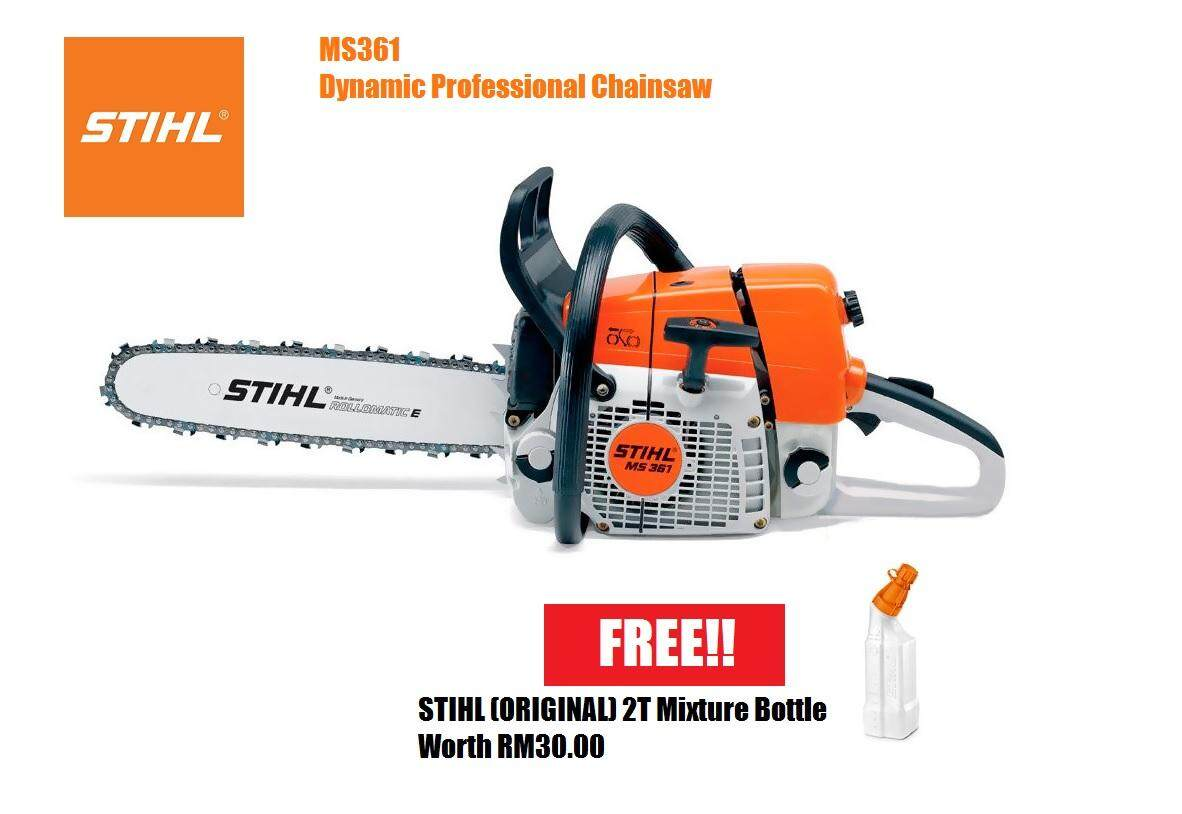 Stihl Buy At Best Price In Malaysia Mesin Potong Kayu Gergaji Chainsaw Ms 180 16 Ms361 20 Inches Guide