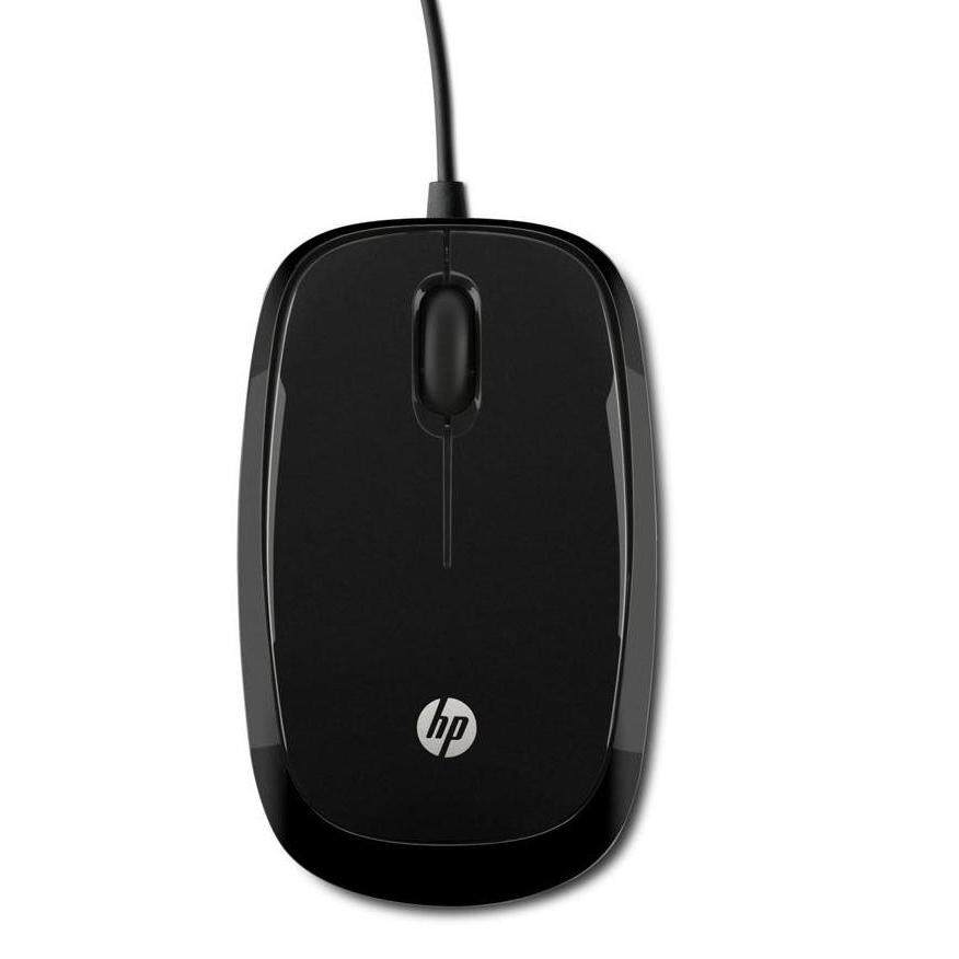 HP X1200 BLACK WIRED MOUSE - (H6E99AA)