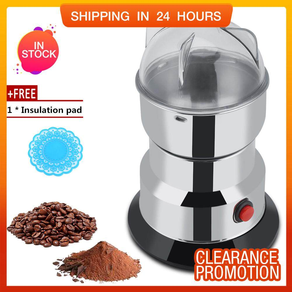 [free Gift] Shanyu 220v Electric Coffee Bean Grinder Household Beans Nuts Mill Grinding Machine By Shanyustore.