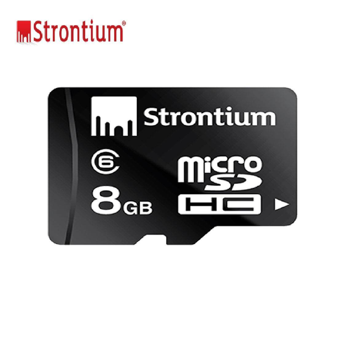 Original Strontium 8gb Memory Card Class 6 Mirco Sdhc Sd Card Fast Speed Transfer By Global Trend.