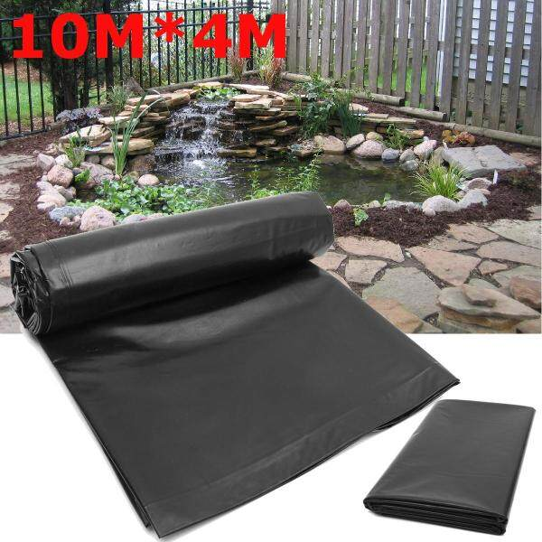 10*4M Fish Pond Liner Gardens Pools HDPE Membrane Reinforced Guaranty Landscaping -