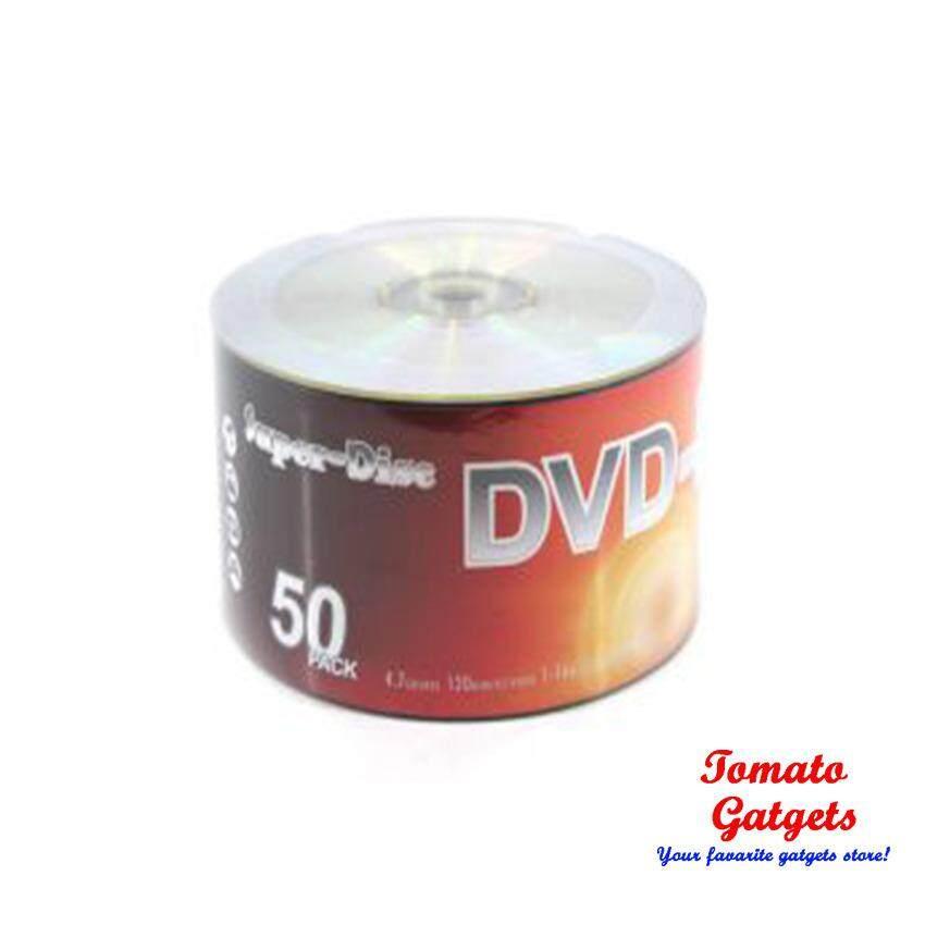 Super Disc 16X DVD R Silver 50PCs