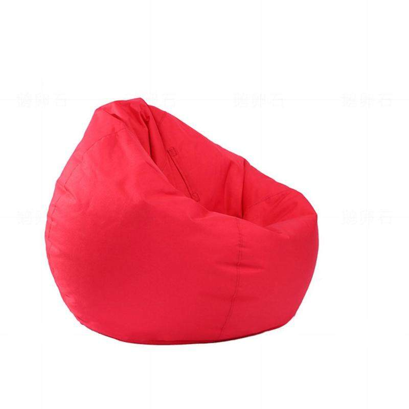 SM Waterproof Stuffed Animal Storage/Toy Bean Bag Solid Color Oxford Chair Cover Large Beanbag(filling is not included)