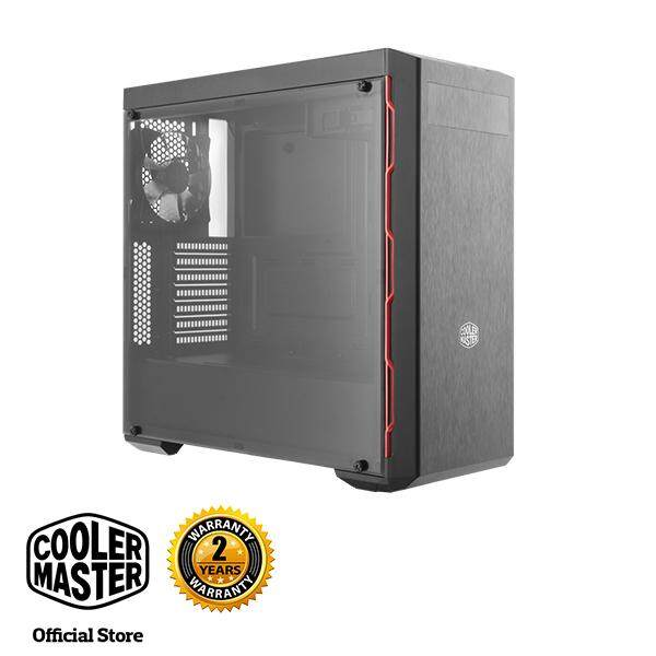 Cooler Master MasterBox MB600L ATX Gaming Case with Red Trim and ODD Drive Malaysia