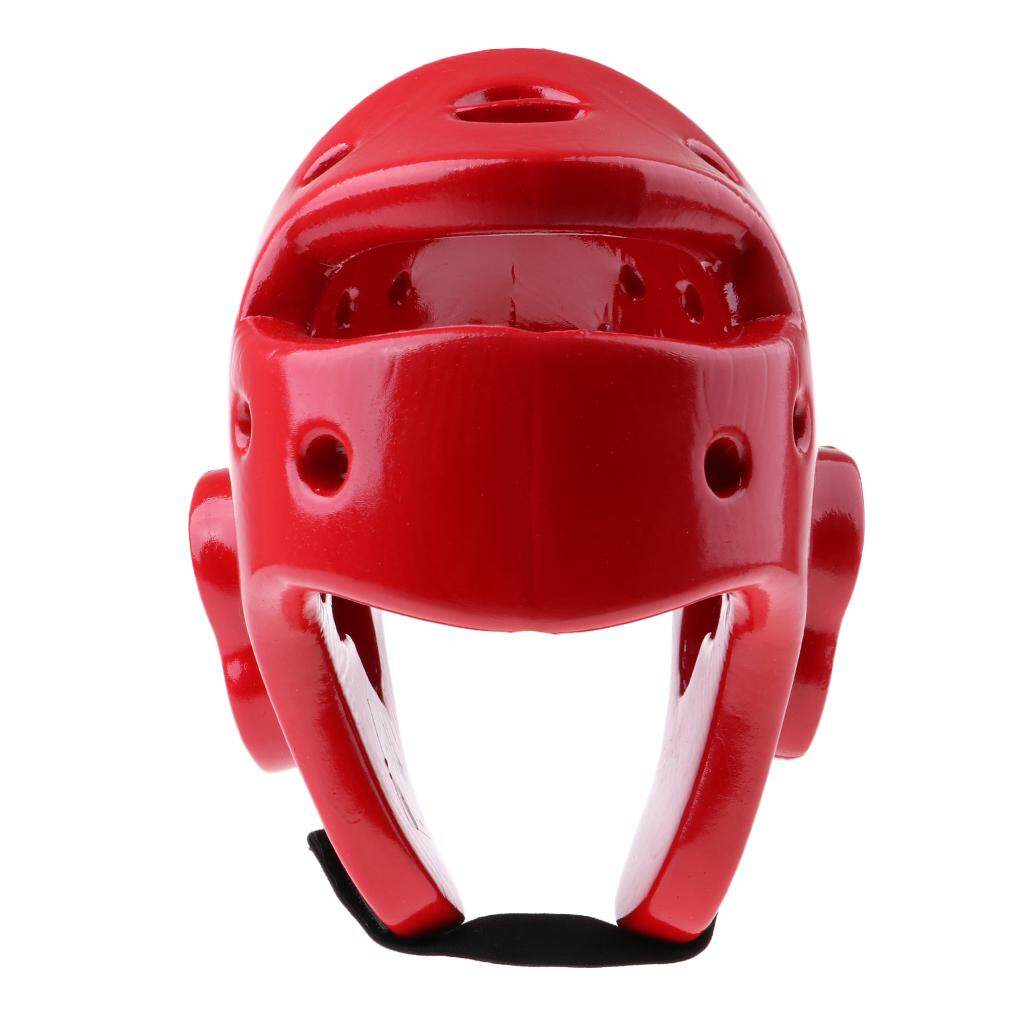 Flameer Boxing Taekwondo Helmet Sparring Gear Head Guard Mma Martial Art Gear Red By Flameer.