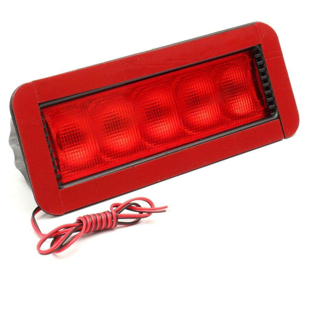 GT-81032B 12V Car 5 LED Warning Rear Tail 3rd Third Brake Stop Light High Mount LED Lamp