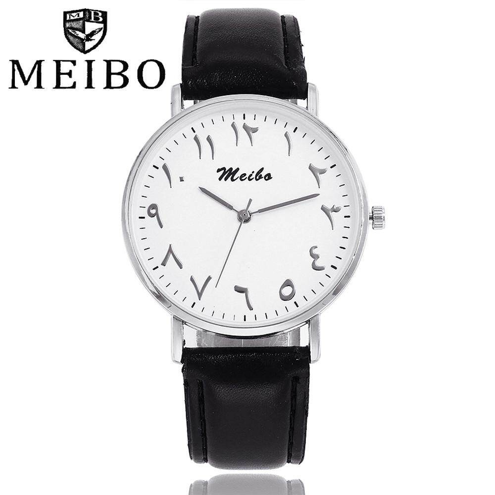 Ormondshop MEIBO Womens Casual Quartz Leather Band Newv Strap Watch Analog Wrist Watch Malaysia