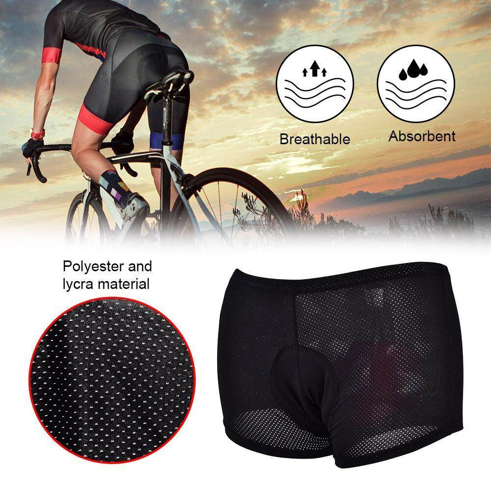 Unisex Outdoor Cycling Underwear Gel 3d Padded Bike Bicycle Riding Shorts Pants (xxxl) By Duoqiao.