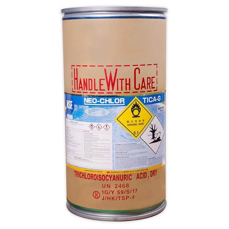 Chlorine Klorin 90% JAPAN - NEOCHLOR 90TABLETS (50KG/DRUM TRICHLOROISOCYANURIC ACID)