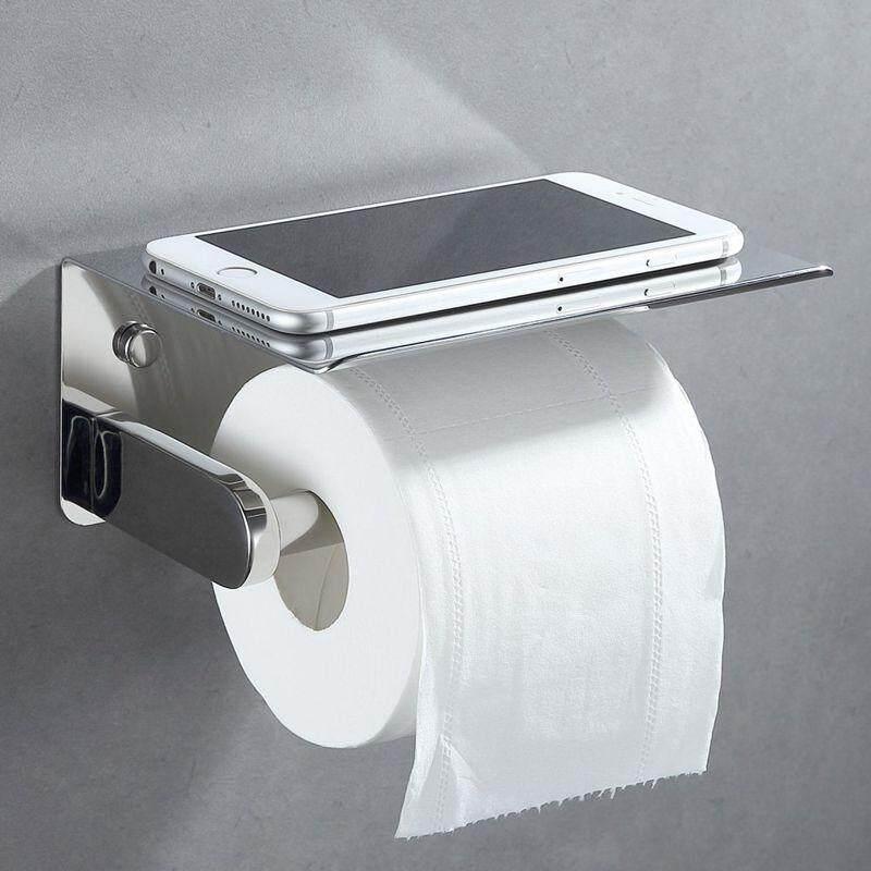 Paper Holders Ews-2pcs Paper Towel Holder Dispenser Under Cabinet Paper Roll Holder Rack Without Drilling For Kitchen Bathroom
