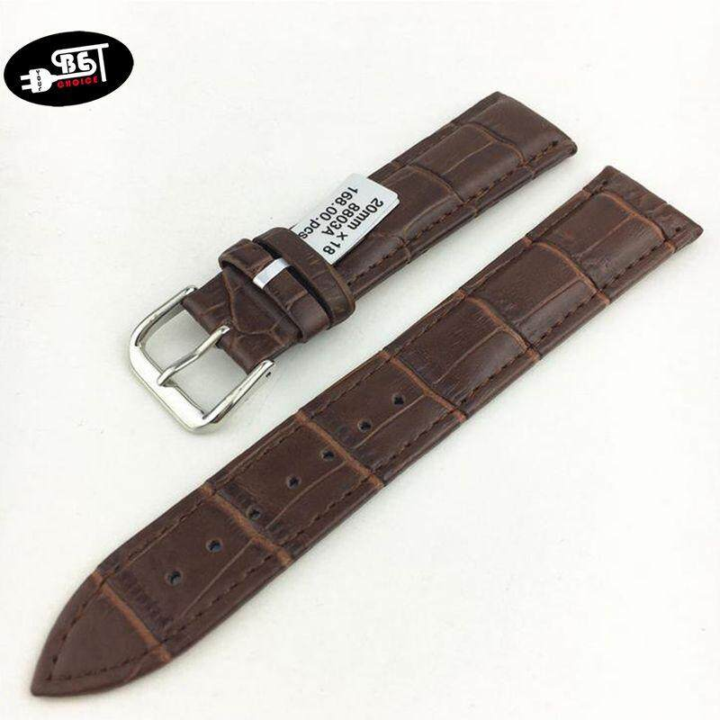 YBC UNISEX 20MM LEATHER STRAP WATCHBAND WATCH BAND FOR MAN WOMEN FASHION MALL Malaysia