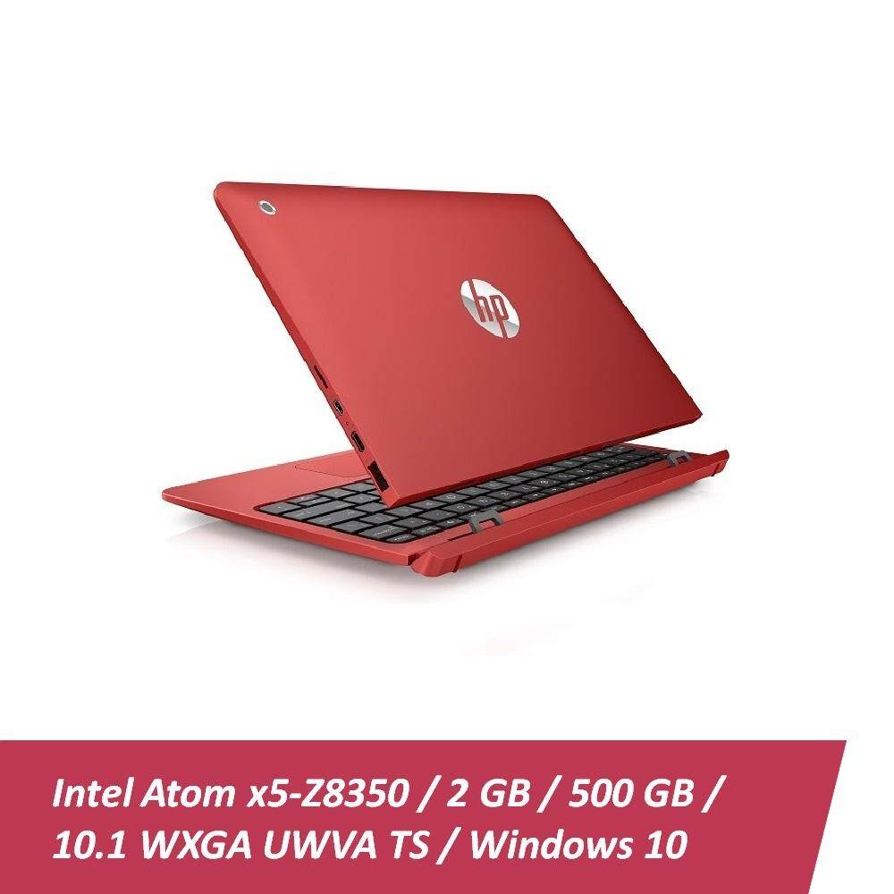 HP x2 Detachable 10-p020TU Laptop (Atom x5-Z8350, 2GBD3, 32GB+500GB,10.1, Win10) - Cardinal Red  + HP Red Sleeve n HP x3000 Mouse Malaysia