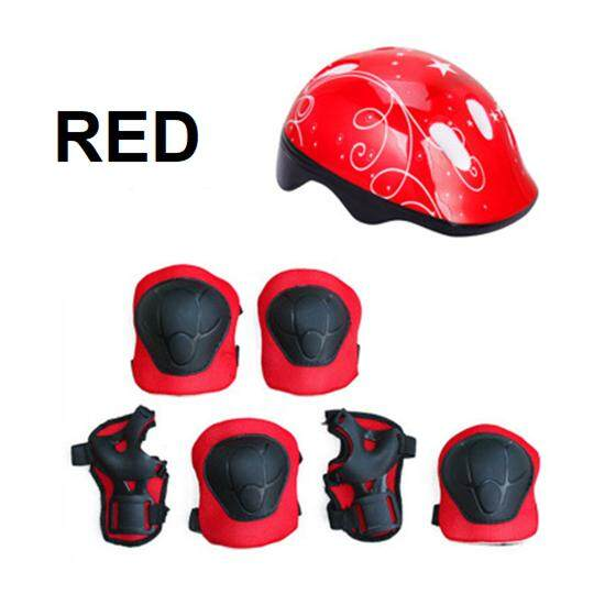 7pcs Outdoor Sport Safety Protective Gear For Kids By Toys & Tots.
