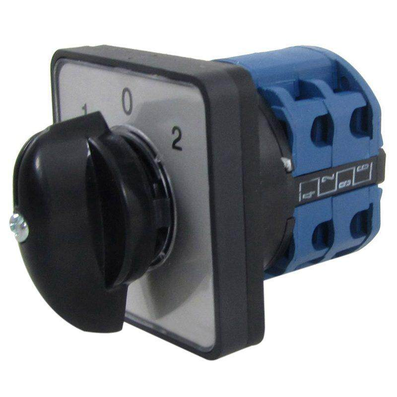 AC 440V 240V ON/OFF/ON Universal Change Over Rotary Cam Switch