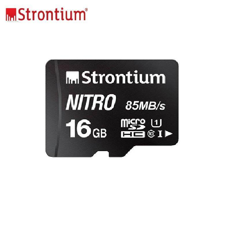 Original Strontium 16gb Nitron 85mb/s Memory Card Class 10 Mirco Sdhc Sd Card Ultra Fast Speed Transfer By Global Trend.