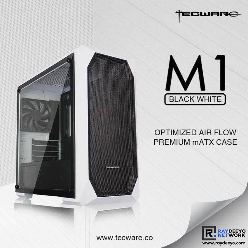 Tecware M1 TG (WHITE) MATX GAMING CASE [Matx, Mini-ITX] Malaysia