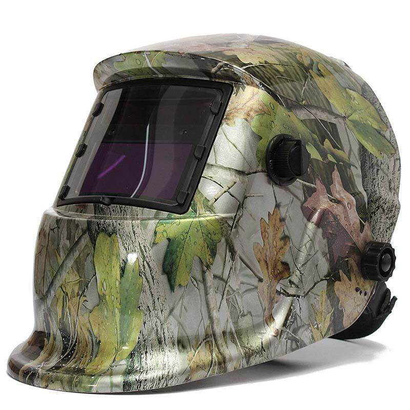 Welding mask Welding helmet Solar energy automatic (solar energy use for refill) Three additional pair of glasses Glass camouflage
