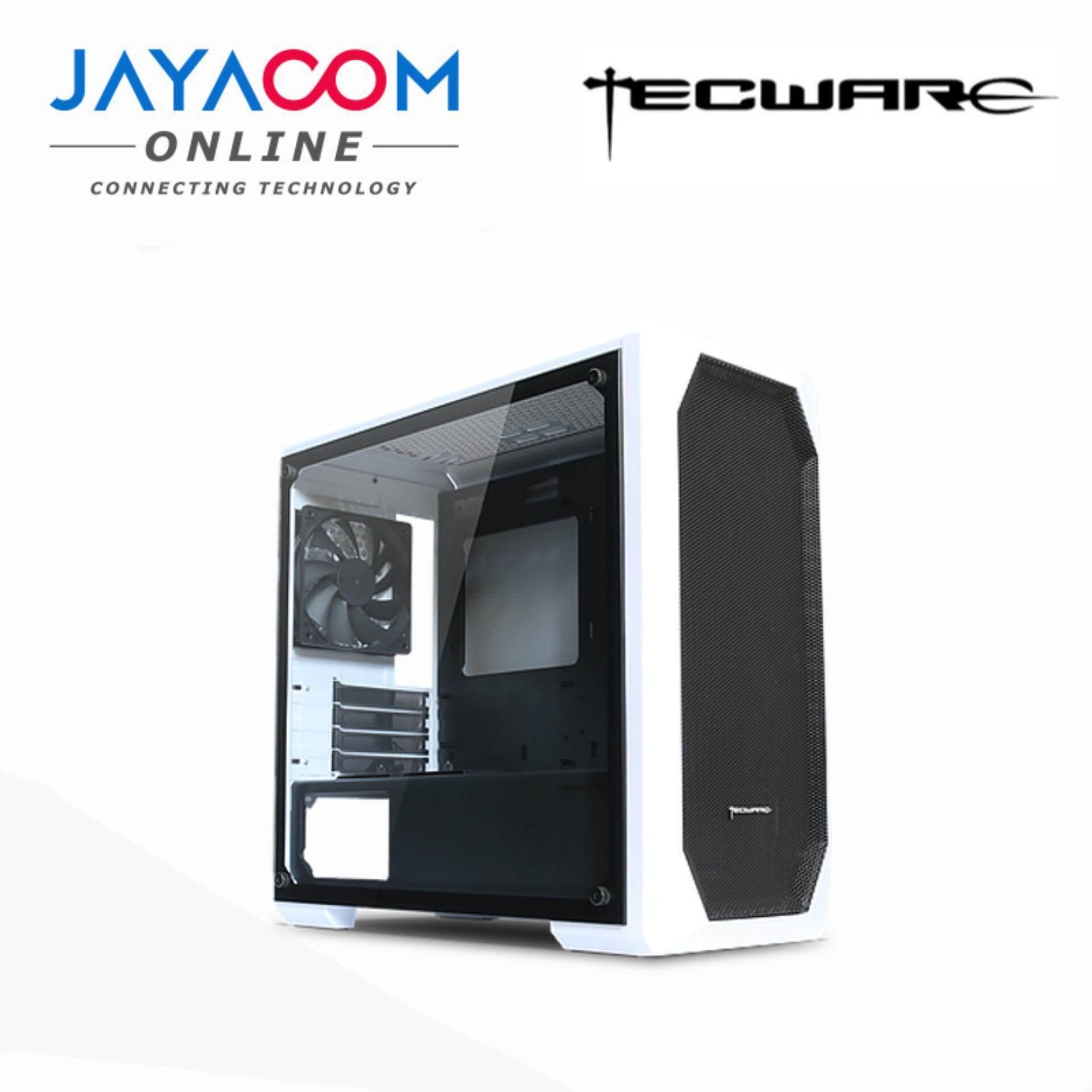 TECWARE M1 TG MATX GAMING CASING WHITE Malaysia