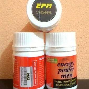 ORIGINAL EPM ENERGY POWER MEN ( 30 CAPSULES ) MAN POWER PILLS
