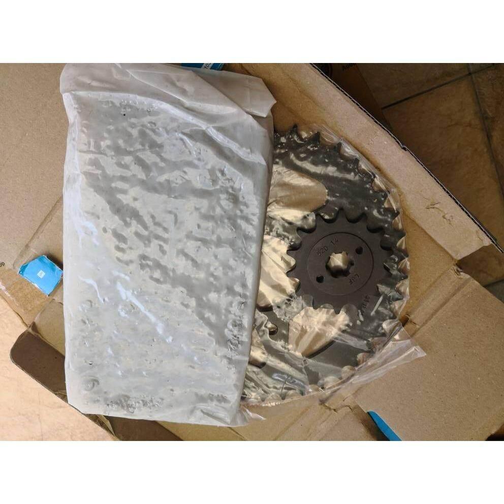 Modenas Bajaj RS200 Chain Sprocket Kit Set *Genuine Part*