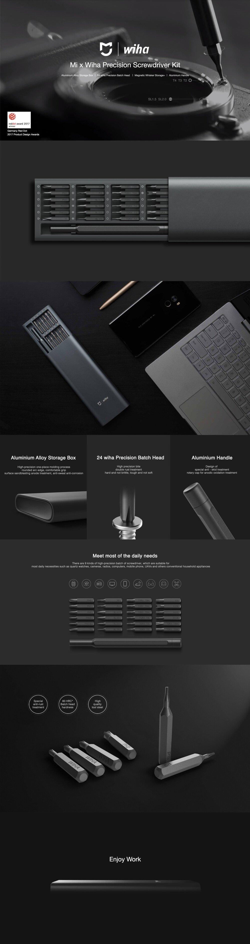 Xiaomi Mi x Wiha Precision Screwdriver Kit