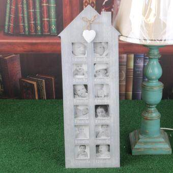 Paling Murah Baby My First Year Picture Photo Display Frame Wall