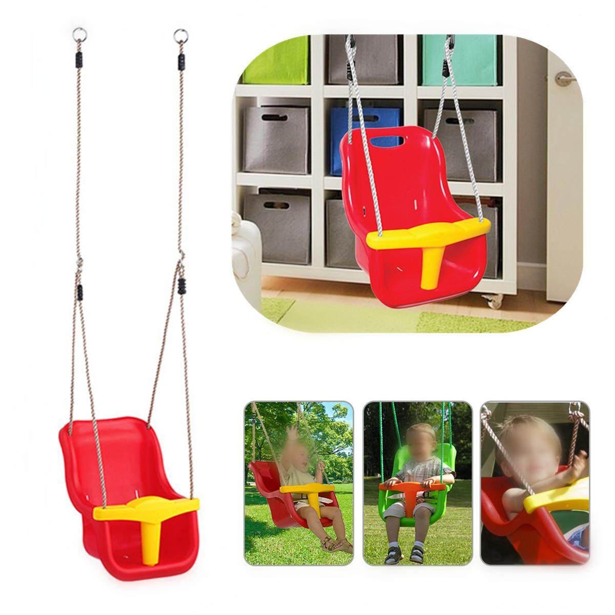 Swings Buy At Best Price In Malaysia Pliko Baby Bouncer Rocking Chair Hammock 3 1 Infant To Toddler Swing Set Secure Detachable Outdoor Play Patio Garden